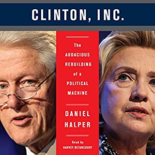 Clinton, Inc. audiobook cover art