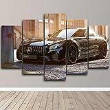 IIIUHU Bilder Mercedes Benz AMG Edo Rennwagen 125x60cm 5