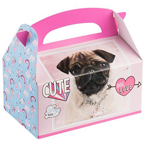 BirthdayExpress Rachael Hale Party Supplies Dog Love Favor Box