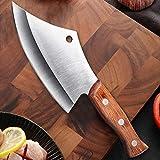 DDoyci Cuchillo de Pesca Acero Inoxidable Chef Chef Chef para Pesca Pesca 4CR14MOV Cuchillo de Cocina Cuchillo de Cuchillo de carnicería (Color : Knife Sharpener, Kitchen Knife Size : 5.7 Inch)