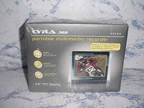 RCA Lyra X2400 Compact Flash Video Recorder with 3.5