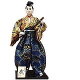 Muñecas Japonesas Samurai Figuras En Miniatura Decoración del Hogar Muñecas...