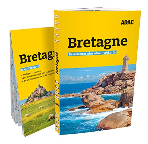 ADAC Reiseführer plus Bretagne: mit Maxi-Faltkarte zum Herausnehmen