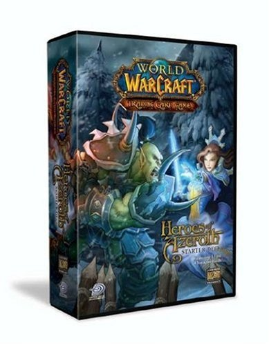 Upper Deck 47040 - World of Warcraft, Helden von Azeroth Starter Deck