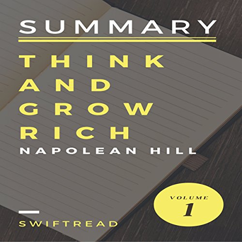 Summary of Think and Grow Rich by Napoleon Hill audiobook cover art