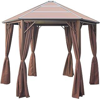 Amazon.es: cortinas para cenadores de jardin