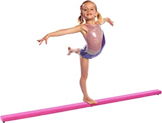 Giantex 8FT Folding Floor Balance Beam for Girls, Boys, Toddlers, Teens Sports Gymnastics Skill Performance Training Easy Storage