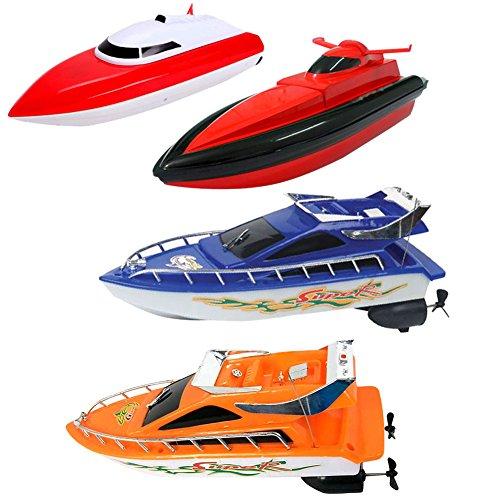kingromargo Kinder RC Super Mini Speed Boot Hochleistungsboot Spielzeug