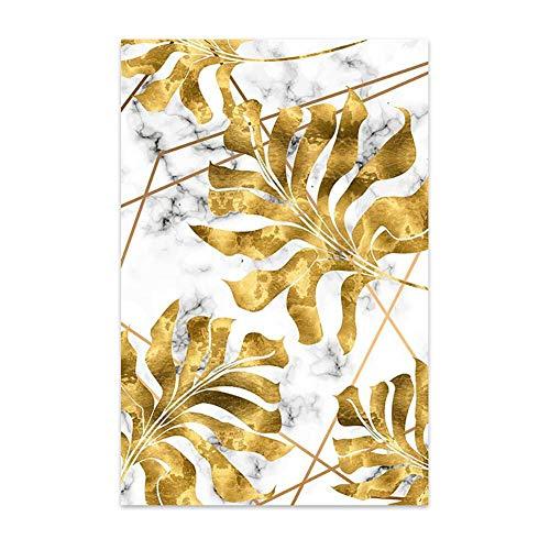 Demarkt Fotolijst olieverfschilderij canvas muurschildering modern fotografie voor wand vele maten 30x40cm geel