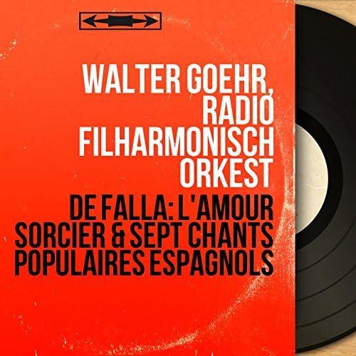 Walter Goehr, Radio Filharmonisch Orkest