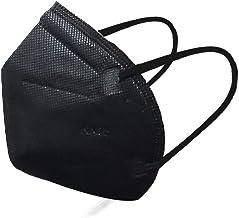 Máscaras KN95 Preta - Kit de 10, 20, 30, 40, 50, 100 Unidades - FPP2 PFF2 - Filtragem > 95% - Embaladas de 10 em 10 - SOS ...