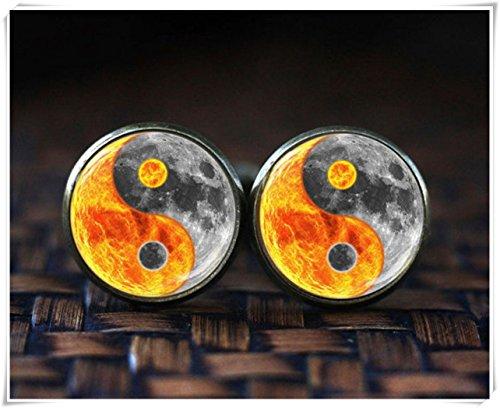 Gemelos Yin Yang Sun Moon, gemelos espaciales, Yin Yang Art