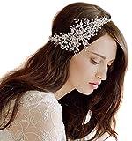 Butterme diadema de pedrería de cristal para novia, accesorios de boda para el cabello (diadema de brillantes, tiara, cadena, corona)