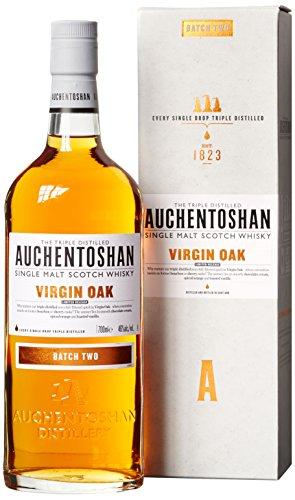 Auchentoshan Virgin Oak Batch Two Limited Release mit Geschenkverpackung Whisky (1 x 0.7 l)