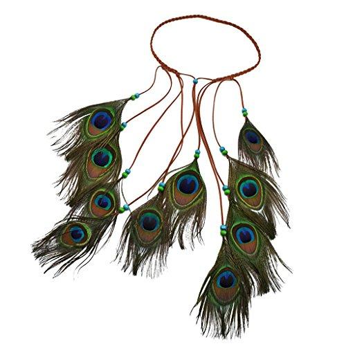 MagiDeal Ethnische Indische böhmische Boho Stil Haarband Stirnband Zubehör für Damen