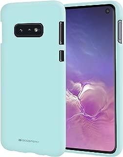 Goospery Soft Feeling Jelly for Samsung Galaxy S10e Case (2019) Silky Slim Bumper Cover (Mint) S10L-SFJEL-MNT