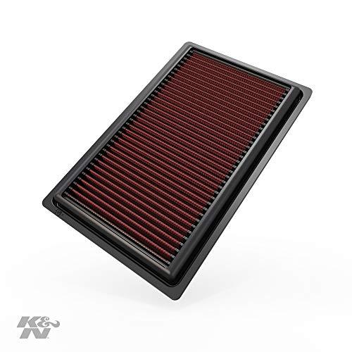 K&N Filtri 33-3045 Ricambio Filtro Aria Auto, Lavabile e Riutilizzabile