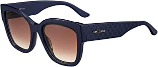 نظارات شمسية نسائية بتصميم مربع الشكل من جيمي تشو، لون بني - Roxie-S PJP Blue S 55