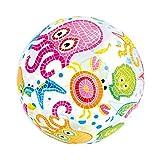 Intex Balón transparente de playa y piscina, diámetro 51 cm (pulpo, canto y estrellas)