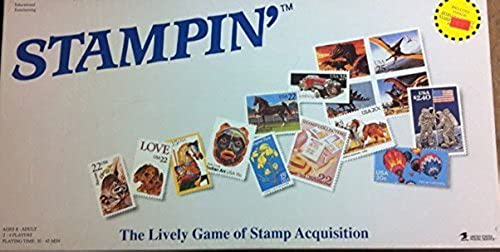 ¡envío gratis! Stampin' - - - The Lively Game of Stamp Acquisition by Rainy Day Designs, USPS  descuento