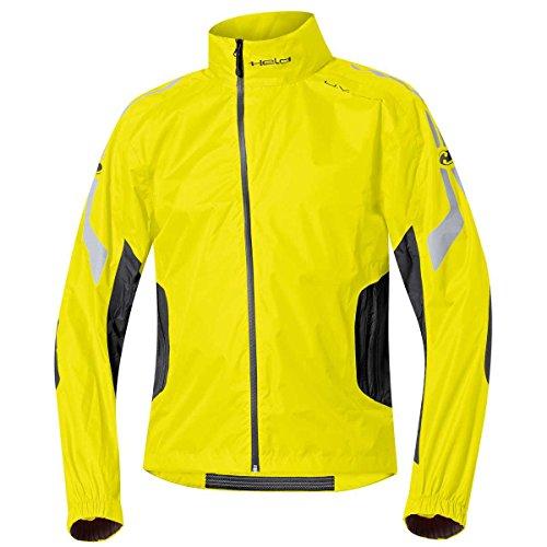 Held Wet Tour Veste de pluie Noir/jaune fluo Taille XL