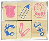 Hero Arts LL730 Woodblock Stamps, Welcome New Baby