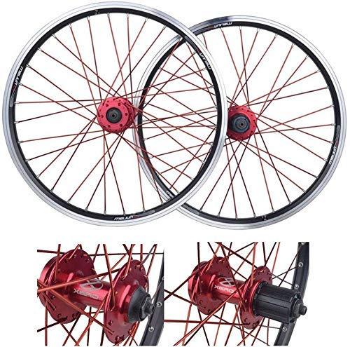 Juego de ruedas para bicicleta de montaña, buje de cassette de aleación...