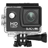 SJCAM SJ4000Agua Densidad Action Sport de cámara 1080P HD, 12MP, LCD 2Pulgadas, cámara de Casco, 16Accesorios