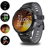 Smart Watch, Eurason New Full Touch Screen activity watch, Fitness Tracker with HR Monitor, Sleep Tracker, Step watch, IP68 Waterproof Fitness Watch Compatible with iOS, Android for Men, Women (black)