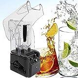 Batidora de vaso de 2,2 l, batidora de smoothie silenciosa, de alto rendimiento, trituradora y picadora de hielo, 30000 rpm