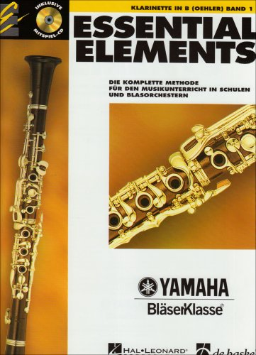 Essential Elements, für Klarinette in B (Oehler), m. Audio-CD