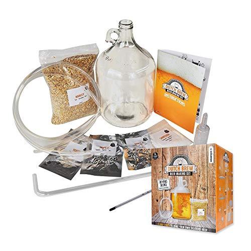 mikamax - Dutchman Bierbrühset IPA - Machen Sie Ihr Eigenes Bier - Komplettes Set