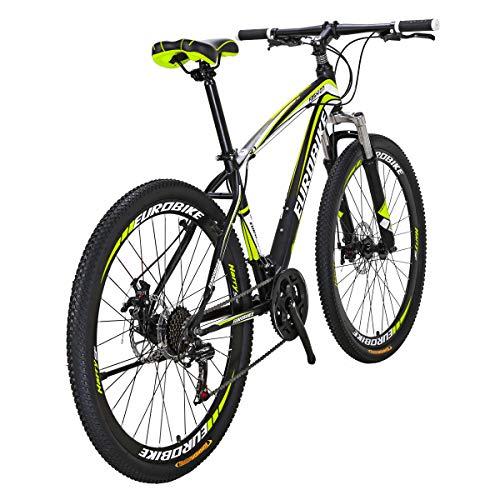 Bikes HYX1 21 Speed 27.5 Inches Muti Spoke Wheels Mountain Bike Blackyellow