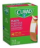 Curad Plastic Adhesive Bandages, Bandage Size is 1