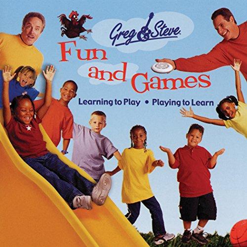 Greg & Steve Productions Greg & Steve: Fun & Games CD