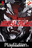 Notebook: Gear Solid Psx Cover , Journal for Writing, College Ruled Size 6' x 9', 110 Pages
