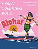 Hawaii Coloring Book: Summer and Beach theme Adult Coloring Books for Stress Relief