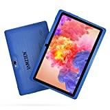 LAMZIEN Tableta 7 Pulgadas,1GB RAM y 16GB,Android OS,Quad-Core 1.5Ghz,Wifi,GPS,Bluetooth,Cámara Dual,Google Play, para Niños y Adultos,Azul
