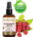 Aceite de semillas de frambuesas rojas. 100% Puro / Natural / Sin diluir / aceite...