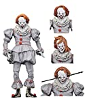 NECA Stephen Kings Es 7' Ultimate Actionfigur Pennywise 2017 Well House. Material: Kunststoff, Hersteller