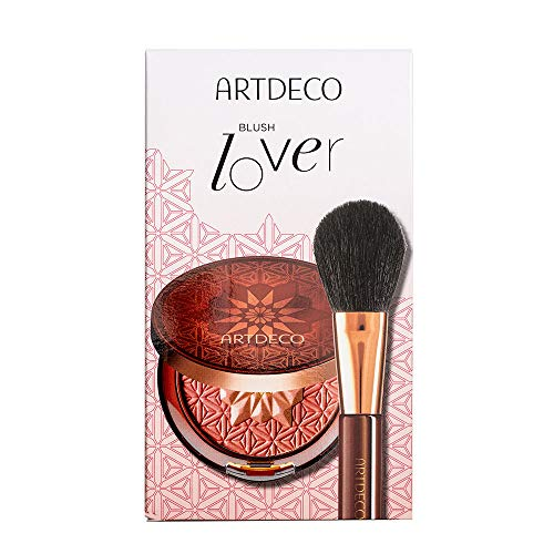 ARTDECO Bronzing Blusher Set, Rouge mit Make-up Pinsel, Geschenkset
