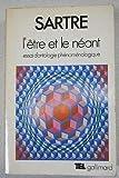 L'Être et le néant - Essai d'ontologie phénoménologique (Bibliothèque des idées) - Gallimard