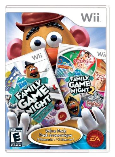 Hasbro Family Game Night 1 and 2 Bundle - Nintendo Wii
