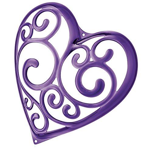 Koziol Sissi Porta-Gioielli a Forma di Cuore Viola