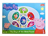 Learn the Days of the Week with the Peppa Puzzle Go on a journey with Peppa and friends to understand various activiteis of the week 39 pcs puzzle