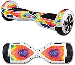 MightySkins Skin Compatible with Self Balancing Mini Scooter Hover Board - Tie Dye 2 | Protective, Durable, and Unique Vinyl Decal wrap Cover | Easy to Apply, Remove | Made in The USA