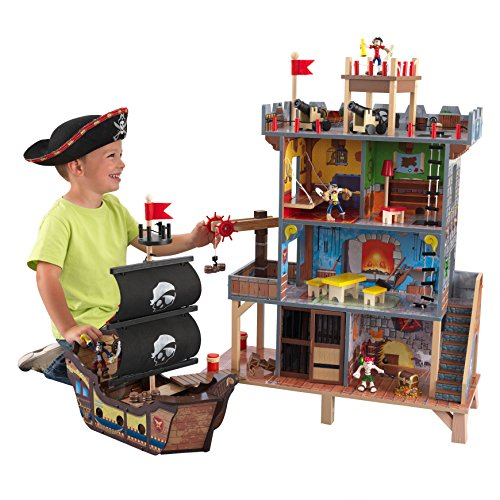 Kidkraft 63284 Pirate'S Cove - Set Covo dei...