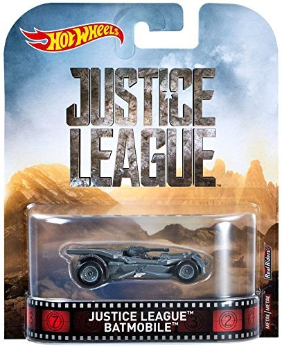 Hot Wheels Justice League Modell aus Batmobile Batman 1/64 Maßstab Mattel DWJ80