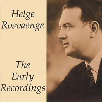 The Early Recordings - Helge Rosvaenge