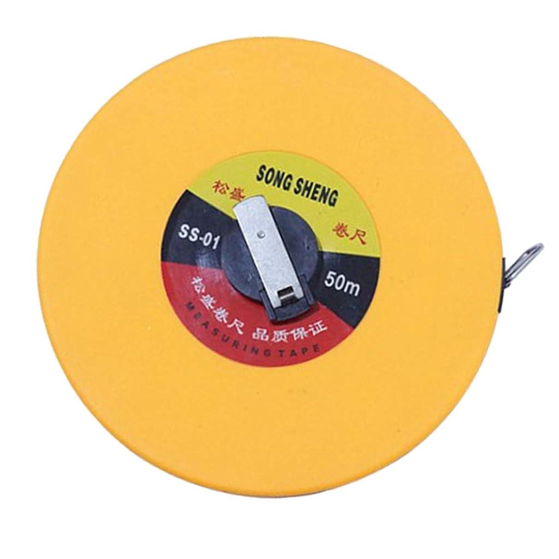 炭素損失ケーキFLAMEER テープメジャー テレスコピック測定テープ 引き込み式 引きリング付 繊維製巻尺 全5サイズ - 50メートル
